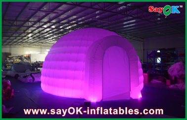 Quảng cáo Dome Inflatable Air Tent, Led Light Inflatable Lawn Tent