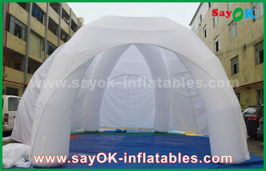 Quảng cáo trắng PVC Giant Inflatable Triển lãm Inflatable Spider Tent