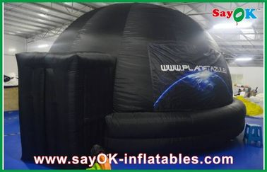 Trường Inflatable Planetarium, chống cháy Inflatable chiếu Dome Tent